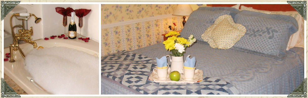 Guest Rooms at our Port Townsend Hotel