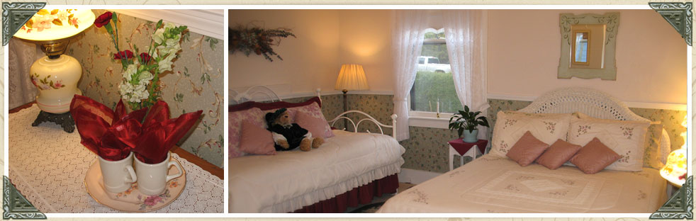 Roseview Room at our Inn Port Townsend Washington