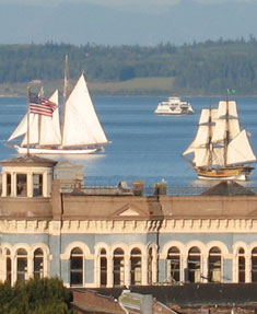 Port Townsend water sports include sailing, whale watching and kayaking
