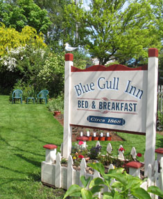 Directions to Blue Gull Inn: A Port Townsend Bed and Breakfast