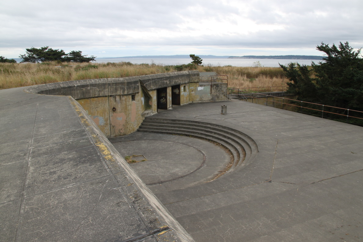 Bunkers At Fort Worden State Park In Port Townsend Wa