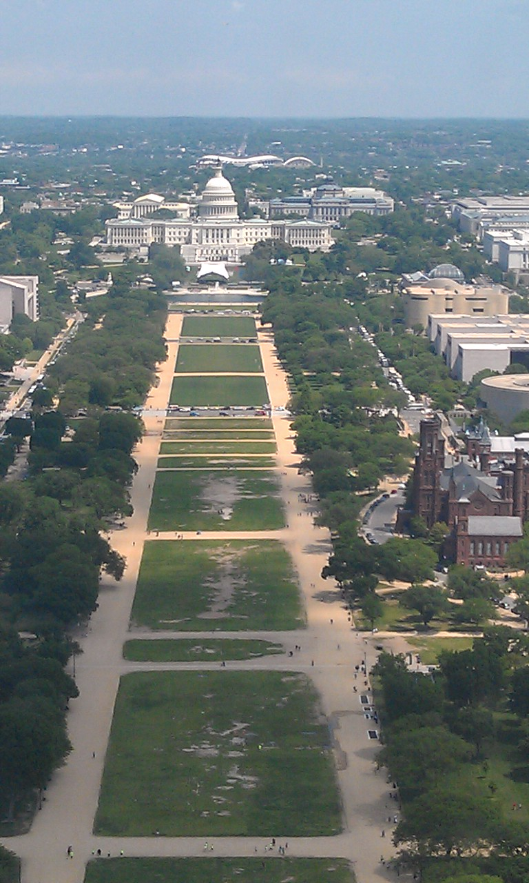 US Capital from the Washington Monument - Blue Gull Inn
