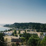 Fort Worden State Park from Hill